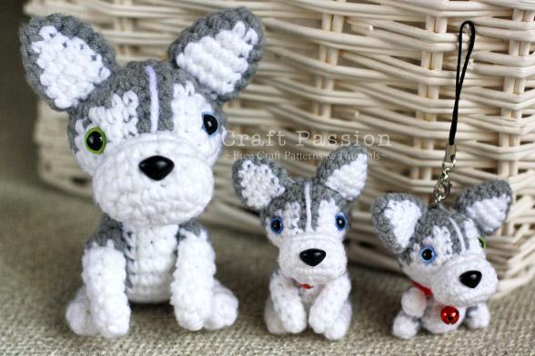 Knitted Stuffed Dog Pattern Free