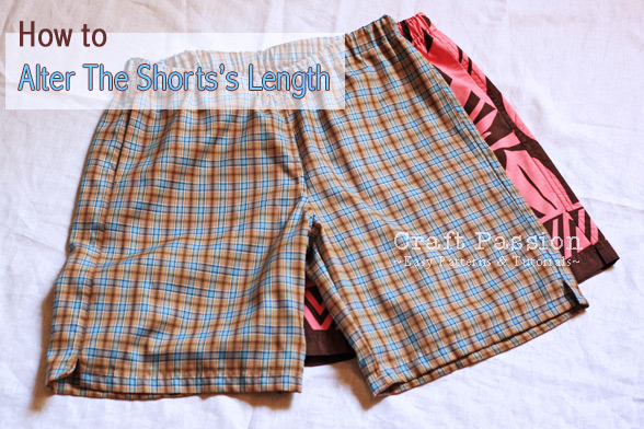 Altering Sewing Patterns – Shorts Length