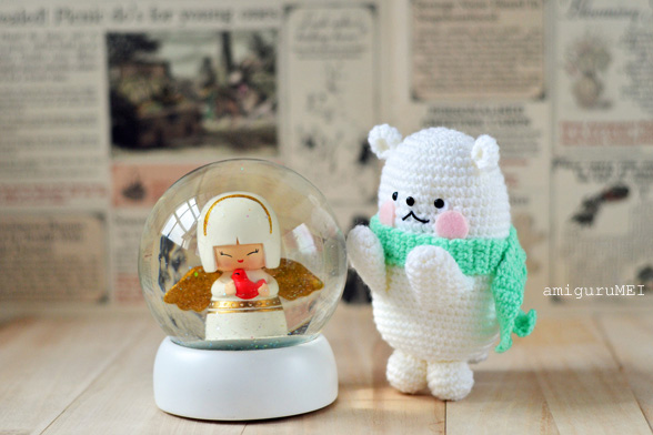 polar bear amigurumi pattern