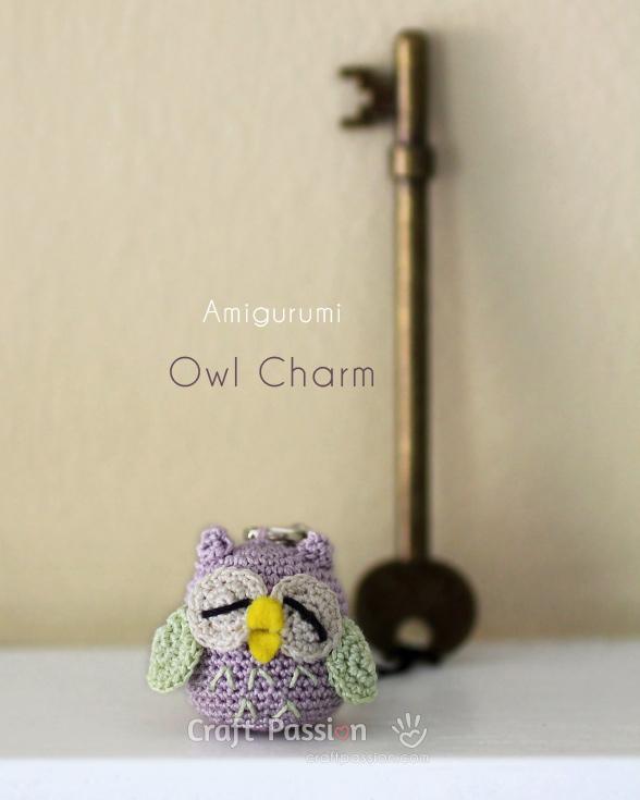 little owl amigurumi owl