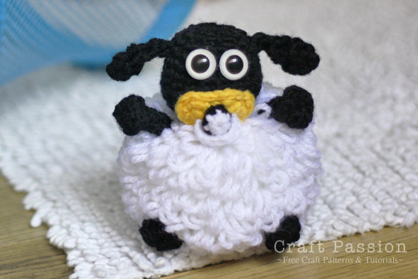 baby sheep amigurumi pattern
