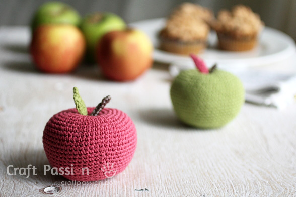 Amigurumi Big Apple Crochet Pattern