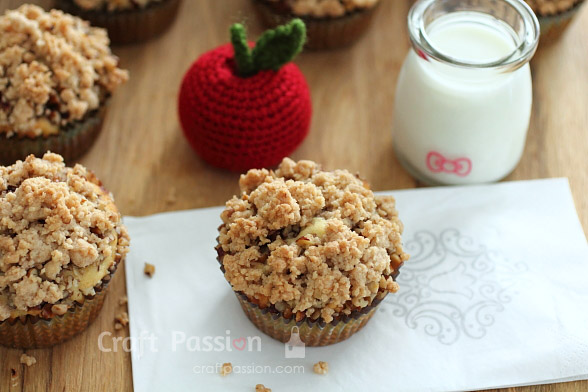 Apple Crumble Muffins Recipe