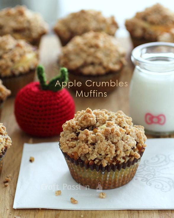 apple crumbles muffin recipe