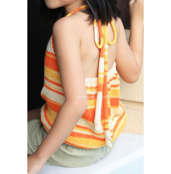 bareback knit top pattern