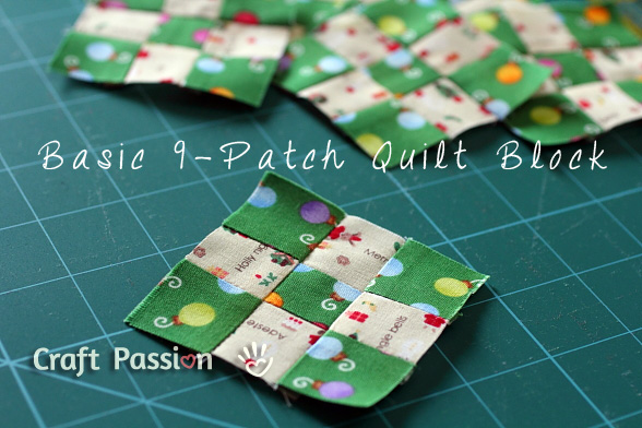 basic 9 patch quilt block