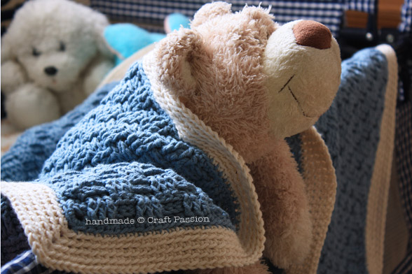 Basket Weave Crochet Pattern - Baby Blanket | Craft Passion