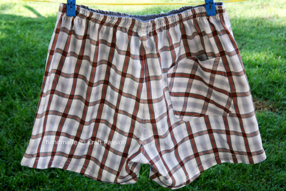 boxer shorts sewing pattern