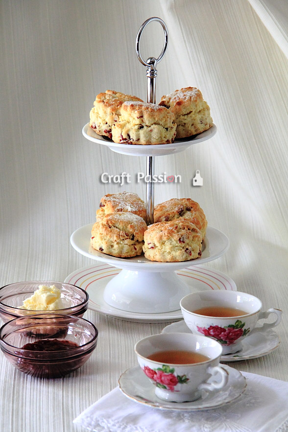 buttermilk scones tea