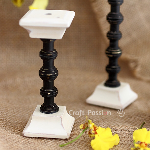 easy candle stand