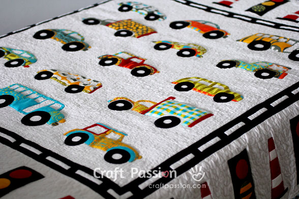 car quilt