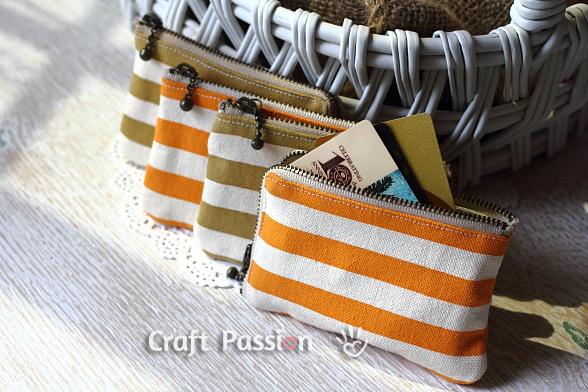 zipper purse pattern