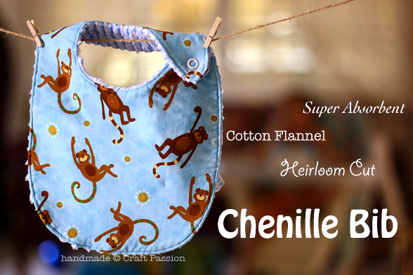 Chenille Bib Sewing Pattern
