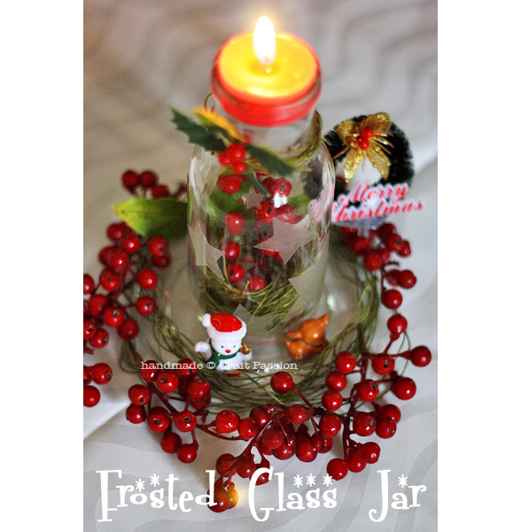 Christmas tea light stand