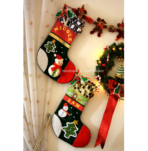 Christmas Ornament Stocking