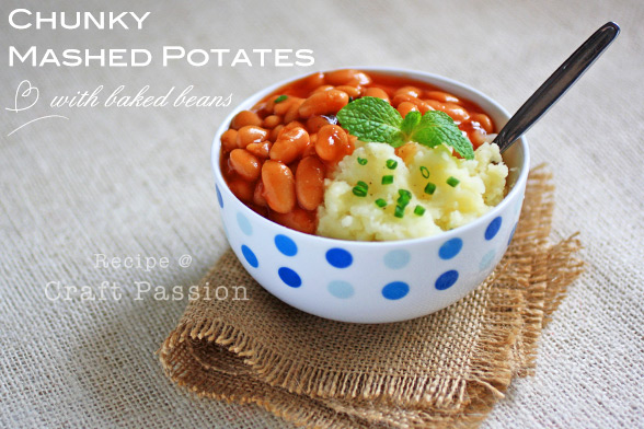 Chunky Mashed Potatoes Recipe