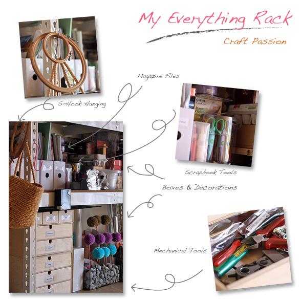 craft room racks