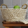 Hemp Basket Crochet Pattern