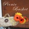 Floral Picnic Basket