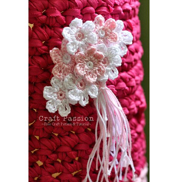 crochet small flower