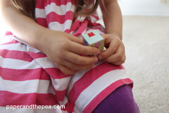play homemade dice game