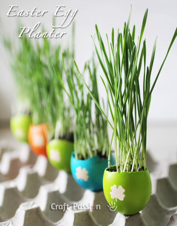 easter egg planter