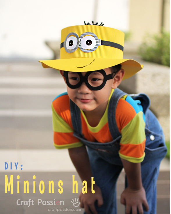 make easy minions hat
