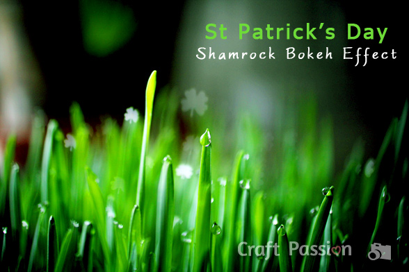 Shamrock Bokeh Lights