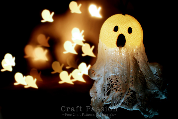 Halloween Ghost Light