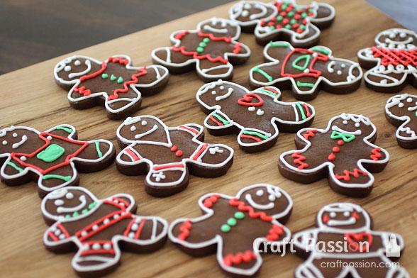 gingerbread man cookies