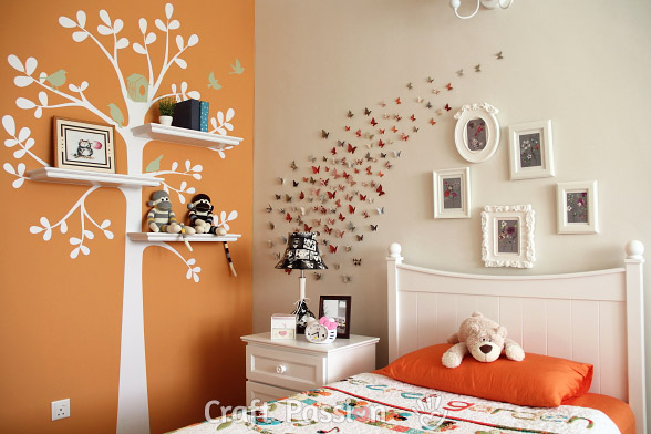 Girl's Bedroom Decorations