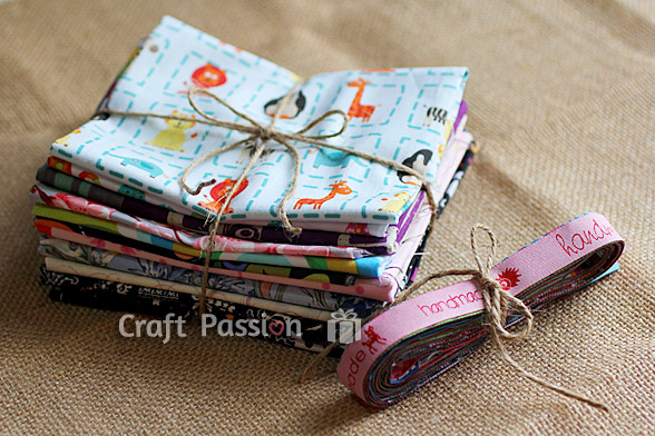 Fabric & Ribbon Bundle Giveaway {Closed}