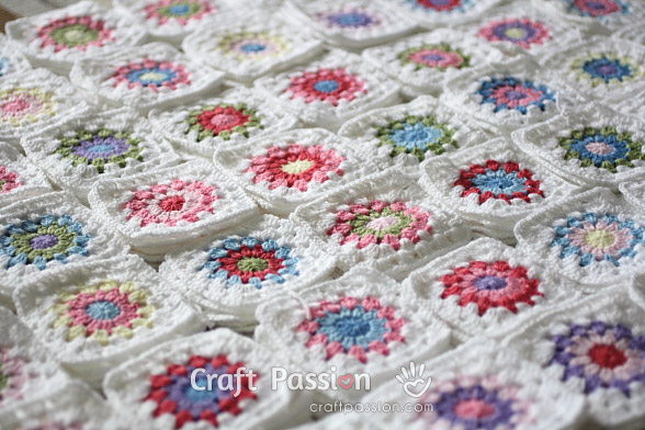 How Many Granny Square Color Combination