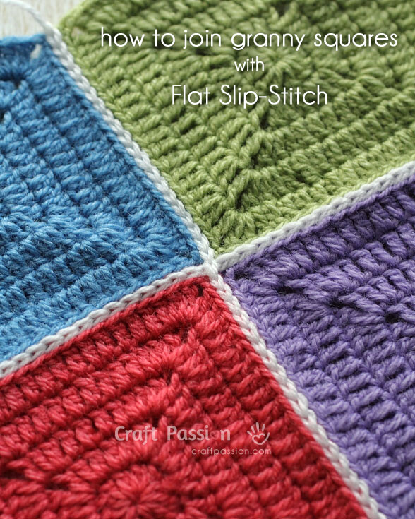 flat slip stitch join