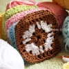 Granny Square Crochet Pattern
