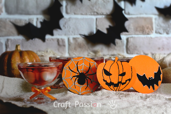 Halloween Theme Coasters