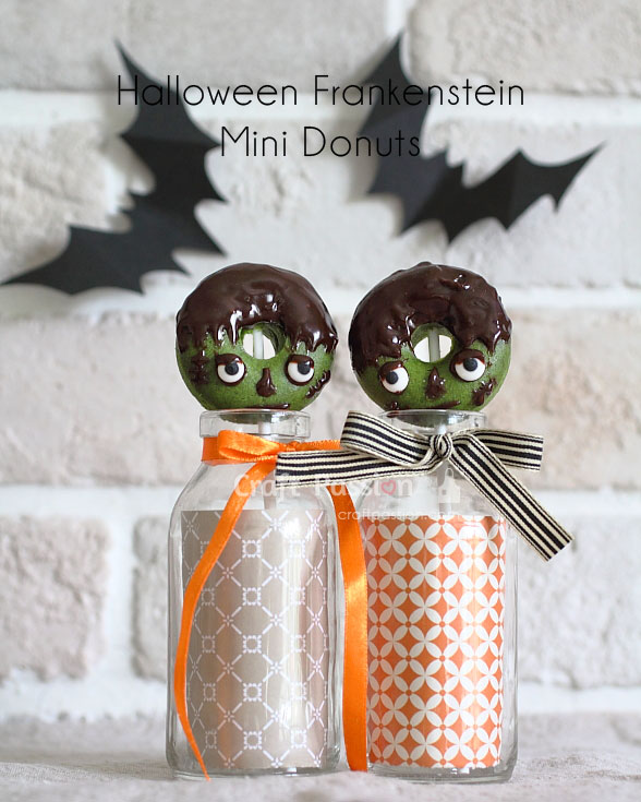 frankenstein halloween donuts treats