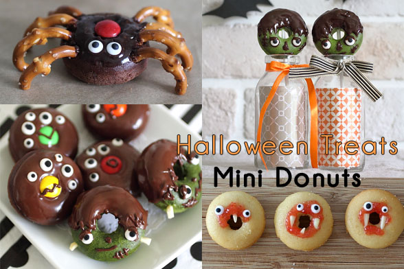 Halloween Donut Treats
