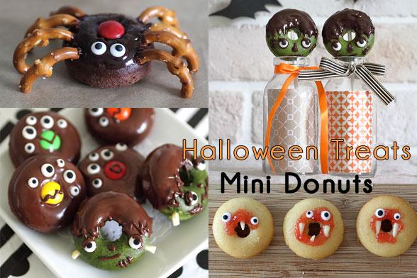 Halloween Donut Treats