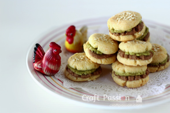 Hamburger Cookie Recipe