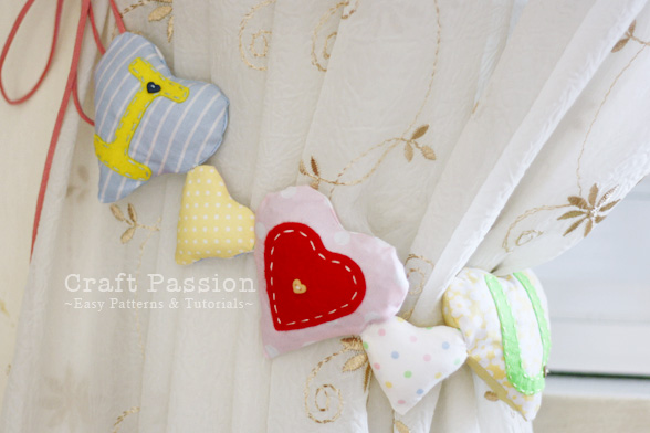 Heart Shaped Sachet garland