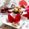 Felt Valentine Fortune Cookies