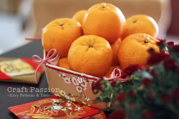 Mandarin Oranges Basket