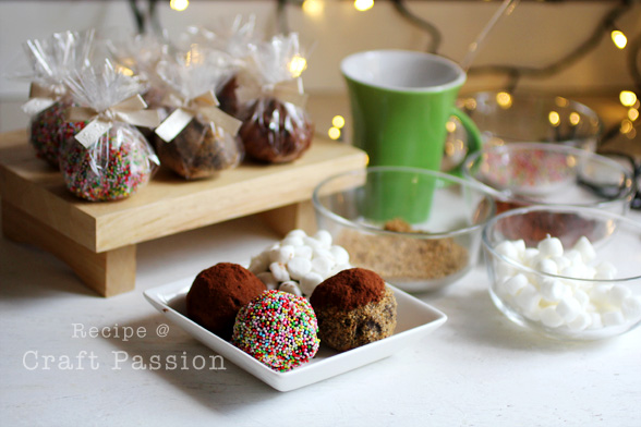 hot cafe mocha truffle recipe
