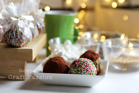Hot Cafe Mocha Truffles