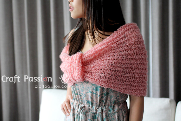 Cowl Scarf Knitting Pattern