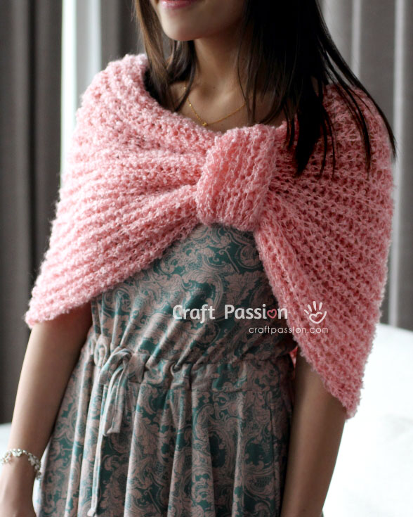 Cowl Scarf Free Knitting Pattern Craft Passion