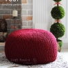 Pouf Knitting Pattern