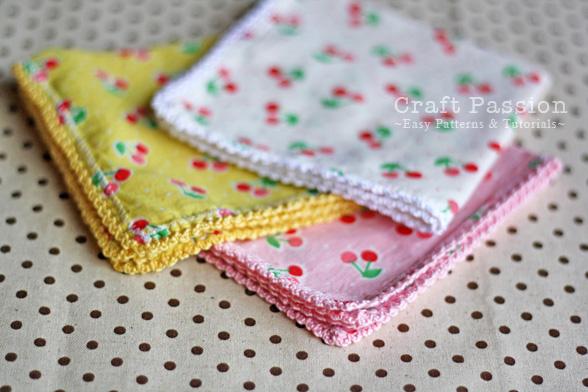 lace trim handkerchief