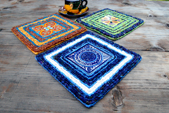 colorful trivet pattern